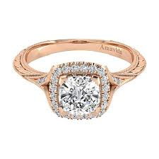 gold cushion cut engagement rings cordula 18k gold cushion cut halo engagement ring