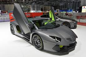 lamborghini sedan up close with the hamman aventador pics