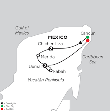 Map Of Mexico Cancun by Mexico Vacation Packages Monograms Travel