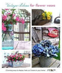 unique flower vase ideas hometalk