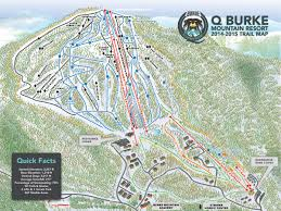 Map New England by 2014 15 Q Burke Trail Map New England Ski Map Database