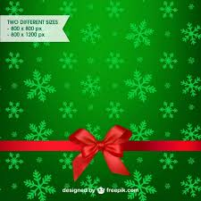 green christmas background vector free download