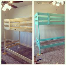 Ikea Bunk Beds For Sale Ikea Bunk Bed Hack Two Thirty Five Designs