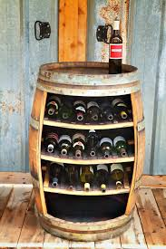 Kitchen Wine Cabinet Wine Rack Cast Iron Wine Barrel Wine Rack Wine Bottle Holder