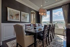 Hovnanian Home Design Gallery Grasscloth Wallpaper Adds Warmth To Formal Dining K Hovnanian