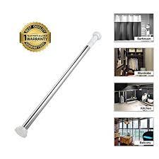 Rod Curtain Amazon Com Tension Rod Curtain Shower Adjustable Rod Spring