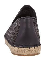 ugg australia boots sale deutschland ugg australia loafers aus leder in flechtoptik metallic schwarz