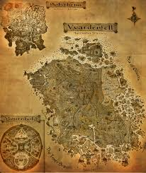 Map Of Nirn The Elder Scrolls Iii Morrowind A3 Map By Crashelements