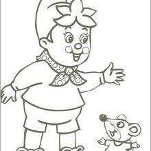 noddy hand washing his clothes coloring pages hellokids com
