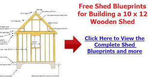 10 14 shed plans free shed construction and woodworking ideas