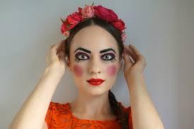 Halloween Doll Costumes Russian Doll Halloween Makeup Tutorial