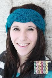 crochet headbands braided crochet earwarmer braided crochet headband custom