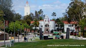 San Diego State Campus Map by A Photographic Journey Through The San Diego State University