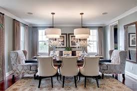 The Mature Transitional Dining Room Lamps Plus - Transitional dining room