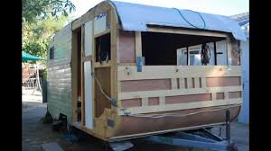 santa fe travel trailer restoration part 3 youtube