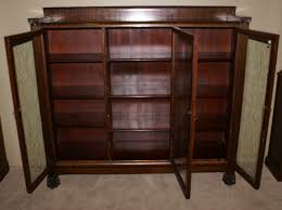 Mahogany Bookcase With Glass Doors Awesome Collection Of Antique Bookcase Mahogany Bookcases With