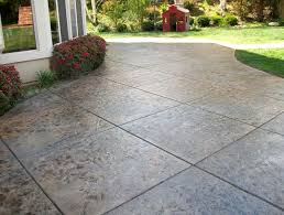 Concrete Patio Vs Pavers Five Collection Cost For Cement Patio