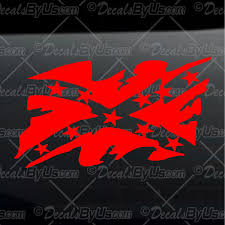Confederate Flag Rear Window Decal Lowest Prices On Car U0026 Truck Window Decals And Stickers