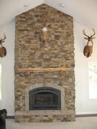 warm and cozy stone fireplace surrounds u2013 stone veneer fireplace