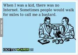 when i was a kid funny ecard