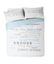 Argos Duvet Buy Snooze Typography Bedding Set Double At Argos Co Uk Your