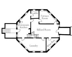 Blueprint House Plans by Octagon House Plans Vintage Custom Octagonal Home Design And