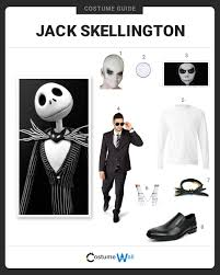 Jack Pumpkin King Halloween Costume Dress Jack Skellington Costume Halloween Cosplay Guides