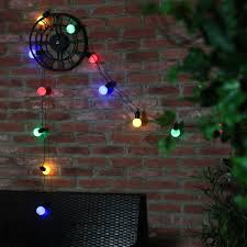Solar Powered Fairy Lights Review by Solar Powered Party Festoon Fairy Lights 12 Leds 5 5m