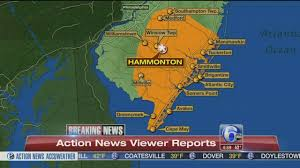 Jersey Shore Map Sonic Boom Causes Ground To Shake In New Jersey Long Island U S
