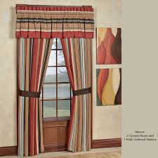 Southwest Bedroom Furniture Calhoun Striped Southwest Window Treatment