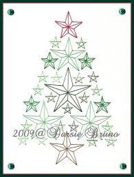 embroidered christmas 217 best christmas tree embroidery images on