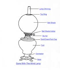 Halogen Torchiere Lamp Parts by Gone With The Wind Lamp Part Index