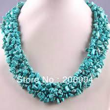 necklace beaded designs images Designer necklace 18 39 39 genuine blue glass crystal tibet silver jpg