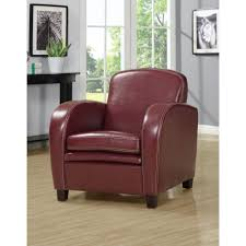 Red Leather Swivel Chair by I8037 38 39 Leather Look Accent Chair Multiple Colors By Monarch
