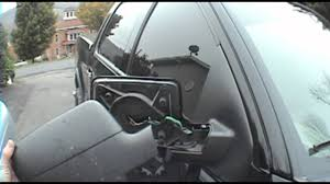 Ford F 150 Truck Body Parts - 04 u002708 ford f 150 mirror dissassemble instructional youtube