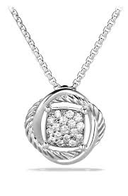 infinity pendant necklace images David yurman 39 infinity 39 pendant with diamonds on chain nordstrom jpg