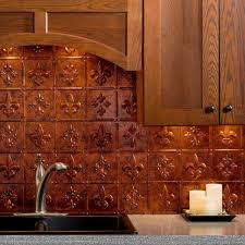 tile idea lowe u0027s peel and stick backsplash copper backsplash