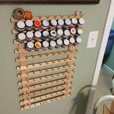 Model Spray Paints - craft or model paint storage rack on the cheap 3 steps with