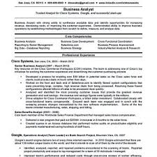 Resume Business Analyst Sample by Business Operations Analyst Resume Sample Xpertresumes Com