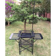 outdoor cooking prep table portable cing sink outdoor c kitchen sink grill food prep