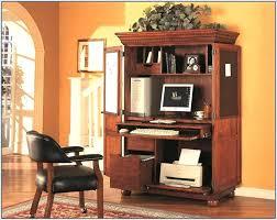 Compact Computer Desks For Home Small Computer Armoire Desk U2013 Abolishmcrm Com