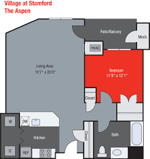 floor plans village at stamford apartments the aspen