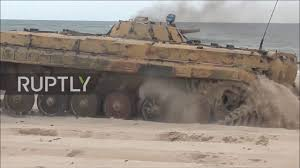 amphibious vehicle marines marines injured as amphibious assault vehicle bursts into flames