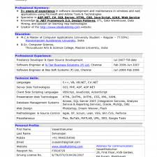 Resume Summary Software Engineer Cover Letter Resume Examples Software Engineer Resume Examples