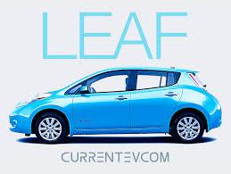 nissan leaf electric car range current ev