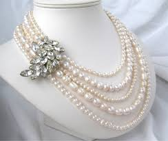 ladies necklace designs images Fresh pearl necklace designs collection for girls and women jpg