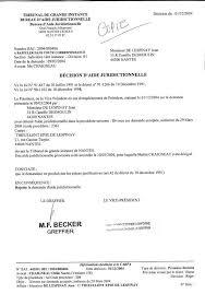 2004 le bureau d aide juridictionnelle de nantes rejette 3 fois ma