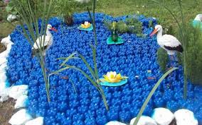 Gardening Craft Ideas Plastic Bottles Crafts Ideas To Reuse As Garden Decorations