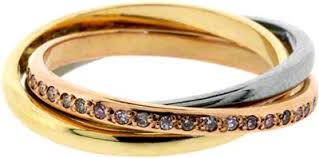 russian wedding rings diamond set russian wedding band