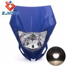 kawasaki motocross helmets aliexpress com buy universal motorcycle headlights supermoto